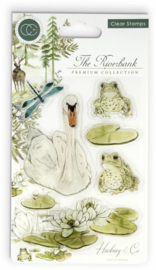 CCSTMP009 Craft Consortium The Riverbank Clear Stamps