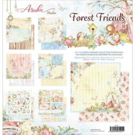 MP-60101 Memory Place Forest Friends 12x12 Inch Paper Pack