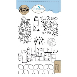 CS125 ECD Clearstamps Pattern 2