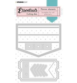 SL-PES-CD09 Cutting Die Label pocket Planner Essentials