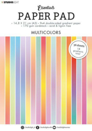 SL-ES-PP20  Paper Pad Multicolors