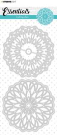 STENCILSL385 Cutting Stencil Essentials Doodle