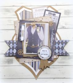 6011/0636 Paper bloc  Gentlemen Style