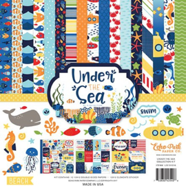 US131016 Echo Park Under The Sea 12x12 Inch Collection Kit