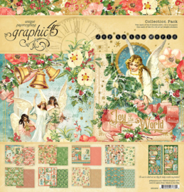 4501909 Graphic 45 Joy to the World  Collection Pack