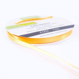 301002-1020 Vaessen Creative satijnlint dubbel 6mm - 10m geelgoud