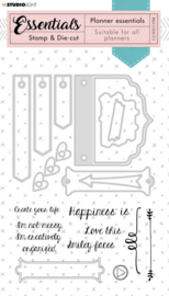 BASICSDC53 Planner Collection - Stamp en Die cut Jeans