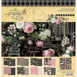 4502195 Graphic 45 Elegance 12x12 Inch Collection Pack