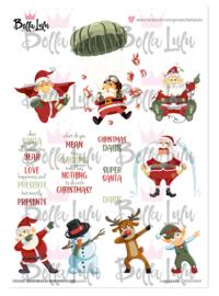 3000/0069 Bella Lulu Knipvel Santa's Life