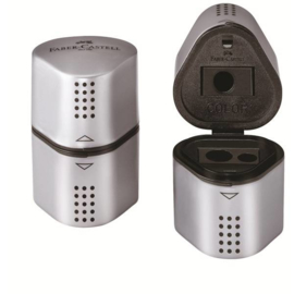 FC-183800 Trio Sharpening Box GRIP 2001 Silver