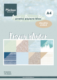 PK9172 Eline's paper bloc Frozen Winter