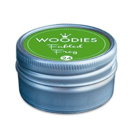 W99024 Woodies Stamp Pad Fabled Frog