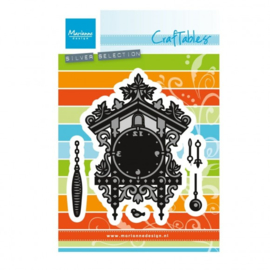 CR1388 Marianne Design Craftables cuckoo clock