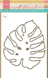 PS8066 Craft Stencil Monstera blad