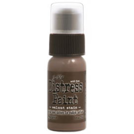 15TDD36517 Tim Holtz distress paint walnut stain