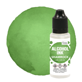 CO727301 Couture Creations Alcohol Ink Shamrock