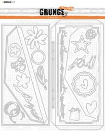 SL-GR-CD89 Cutting Die Grunge Collection