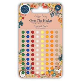 CCADOT004 Craft Consortium Over The Hedge Adhesive Enamel Dots