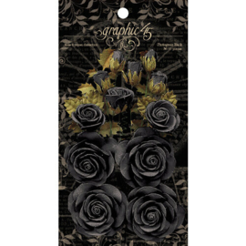 4501979 Graphic 45 Rose Bouquet Collection Photogenic Black