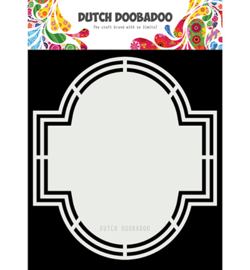 470.713.182 Dutch Doobadoo Shape Emerald