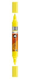 220 ONE4ALL Acrylic twin marker Neon yellow fluorescent