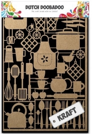 479.002.004 Laser Paper Art A5 Kraft Kitchenware