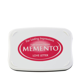ME-000-302 Memento Ink Pad Love Letter