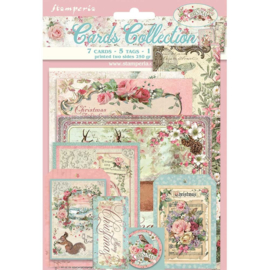SBCARD08 Stamperia Pink Christmas Cards