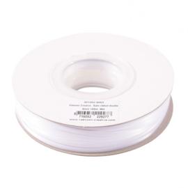 301002-5003 Vaessen Creative • Satijnlint dubbel 3 mm 100m Wit