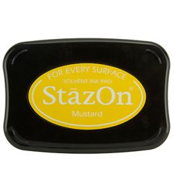 SZ-000-091 Stazon Ink Pad Mustard