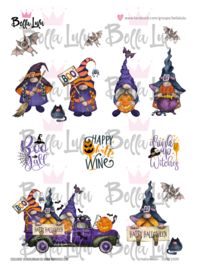 3000/1000 Bella Lulu Knipvel Happy Halloween