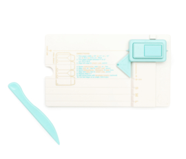 71333-3 We R Memory Keepers Gift Bag Punch Board