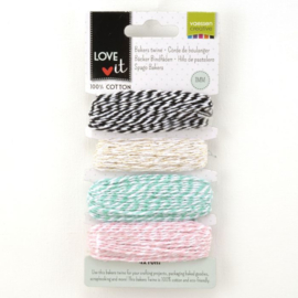 301012-001 Love It Bakers Twine 4x10m