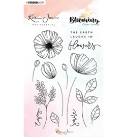 STAMPKJ02 Stamp, Karin Joan Blooming Collection nr.02