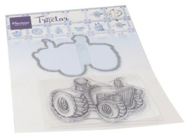 HT1654 Clear Stamp & Die Hetty's Tractor