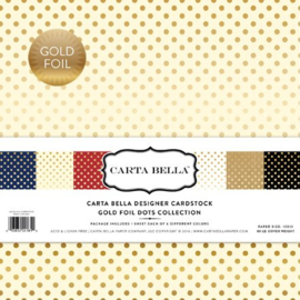 CBFG107Carta Bella Gold Foil 12x12 Inch Collection Kit