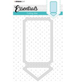 STENCILSL397 Cutting Die Cardshape Twisted gate Essentials