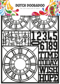 472.950.007 Laser Paper Art zwart Clocks