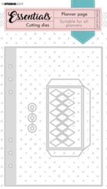 STENCILSL347 Planner Collection - Stansmal Tabs