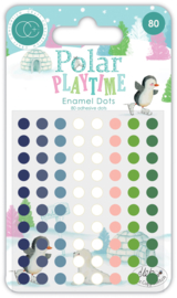 CCADOT006 Craft Consortium Polar Playtown Adhesive Enamel Dots