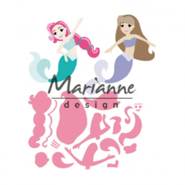 COL1467 Collectables mermaids by Marleen