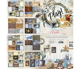 MP-60559 Memory Place Play! 12x12 Inch Journaling Cards Paper Pack