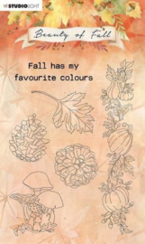 SL-BF-STAMP62 Studio Light Clear Stamp Beauty of Fall