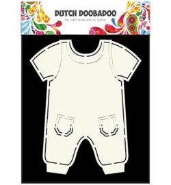 470.713.628 Dutch Doobadoo Card Art Dungarees