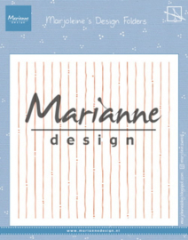DF3456 Design folder Marjoleine's stripes