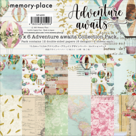 MP-60599 Memory Place 6x6 Inch Paper Pack  Adventure Awaits