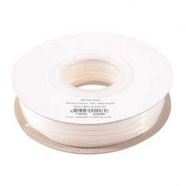 301002-5002 Vaessen Creative • Satijnlint dubbel 3 mm 100m Antiek wit