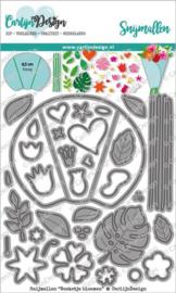 CDSN-0105 Snijmallen Boeketje bloemen