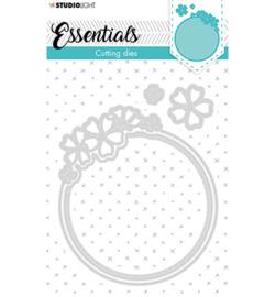 STENCILSL387 Cutting Die Small shape round flower Essentials