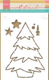 PS8046 Marianne Design - Stencil - Christmas tree